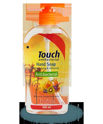 Sapun lichid antibacterian Exotique