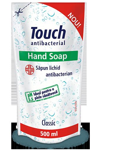 Rezerva sapun lichid antibacterian Classic