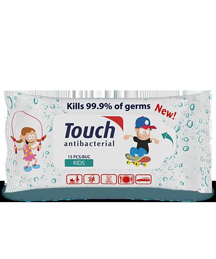 Servetele umede antibacteriene Kids