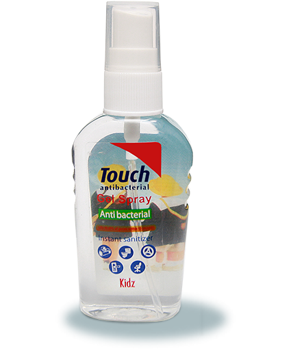 Touch gel-spray antibacterian Kidz