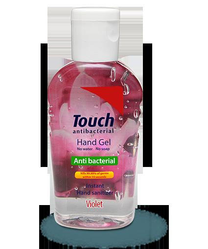 Gel de maini antibacterian Violet