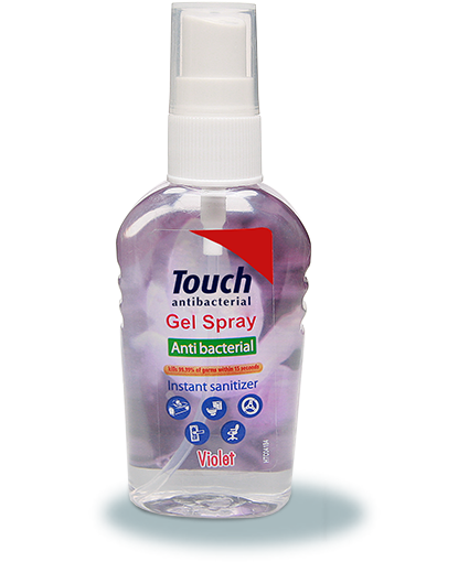 Touch Gel-Spray antibacterian